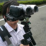 3D映像製作風景